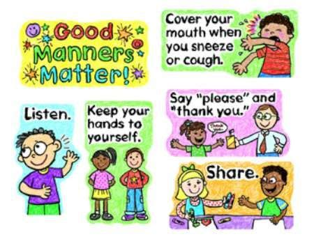 Get an essay on good manners
